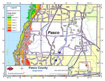 Pasco county evacuation